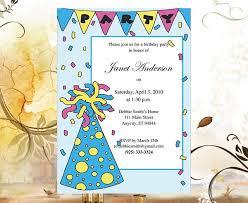 birthday party invite wording funny choice image invitation