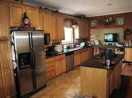 dark wood kitchen cabinet ideas oak kitchen cabinets decorating
