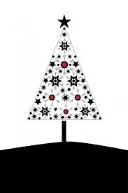 Modern Christmas Trees Christmas Tree Card Modern Free Stock Photo Public Domain Pictures