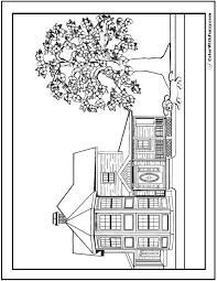 coloring pages houses 35 dog coloring pages breeds bones and dog houses