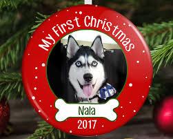 dog u0027s first christmas ornament puppy u0027s first