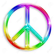 imagenes de archivo libres de derechos ilustración de símbolo de la paz aislado sobre fondo blanco fotos