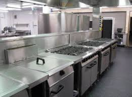 kitchen design for restaurant kitchen and decor