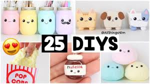 the 25 best diy s 25 amazing diy slimes squishies room decor compilation