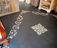 Decorative Floor Painting Ideas Brilliant Using Annie Sloan Chalk Paint On Floors Driven Decor In
