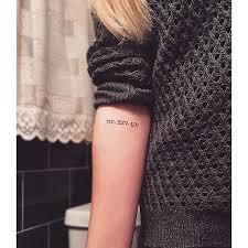 tattoo ideas birthdays roman numerals popular tattoos popsugar and tattoo designs