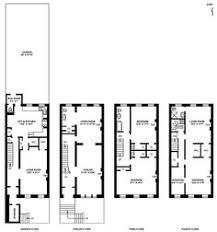 Row Houses Floor Plans Brownstone Row Houses West Side New York Usa By Surrenderdorothy