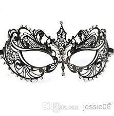 laser cut masquerade masks fashion women metal mask laser cut rhinestone diamond masquerade