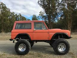 ford bronco jeep professionally built 1968 ford bronco offroad for sale