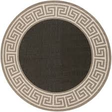 3 Round Area Rugs by Black And Tan Area Rug Roselawnlutheran