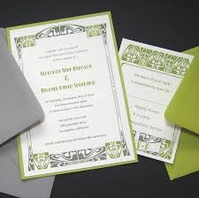 wordings diy art nouveau wedding invitations together with