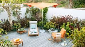 Outdoor Backyard Ideas by Small Yards Sunset