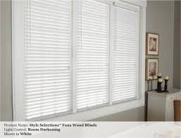 Home Decorators Collection Faux Wood Blinds Perfect Wooden Blinds White Faux Wood Blind Slat And Design