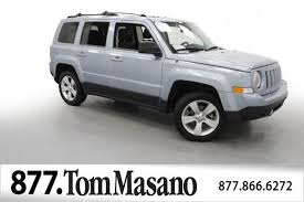 jeep patriots 2014 2014 used jeep patriot 4wd 4dr latitude at tom masano auto