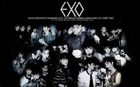 exo wallpaper handphone exo wallpaper hd tumblr
