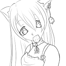 Suzu Lineart By Gothicraine1712 On Deviantart Coloring Pages Kpop