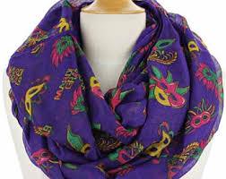 diy mardi gras bead bandana mardi gras scarf etsy