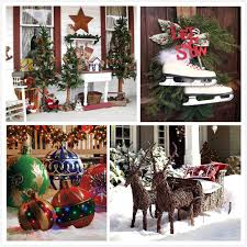 home made outdoor christmas decorations 15 christmas yard decorating ideas 2017
