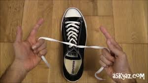 Shoo Hai O how to tie a shoe lace in 1 second