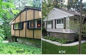 Home Exterior Remodel - exterior mobile home makeover exterior mobile home makeover double