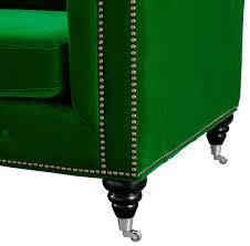 Emerald Green Velvet Sofa by Hanny Green Velvet Sofa From Tov S42 Coleman Furniture