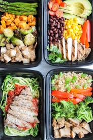 Cooking Preparation Moving Vegetables On by Easy Chicken Meal Prep Bowls 5 Ways Smile Sandwich
