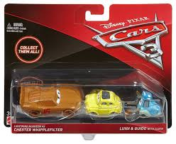cars sally toy disney cars cars 3 chester whipplefilter luigi guido with cloth