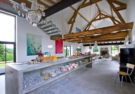 Rustic Meets Modern In An Old Barn Decoholic - Home modern interior design 2