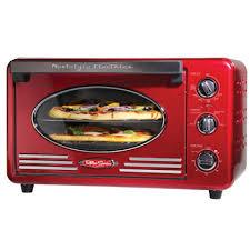 Six Slice Toaster Nostalgia Rtov220retrored Retro Series 6 Slice Convection Toaster
