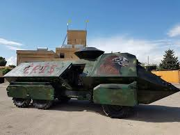 Kurds Discovered An Isis Tank And Did Something Awesome To by Eyewitness Syrian Army Advancing On Raqqa Colonel Cassad The
