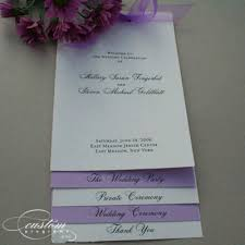 Wedding Booklet Templates Layered Programs