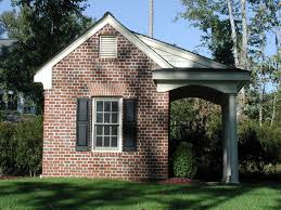 brick potting shed