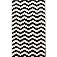 black and white chevron outdoor rug roselawnlutheran large size nuloom shaggy chevron black white outdoor area rug