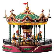 lemax jungle carousel sku 64155 64151 is a new 2016 lemax