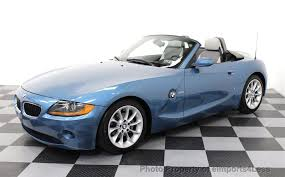 bmw z4 convertable 2003 used bmw z4 2 5i sport package 5 speed convertible at