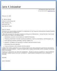 administrative assistant amp executive cover letter with regard to
