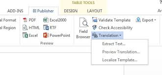 how to create a bi publisher template in ms word u2013 best crm market