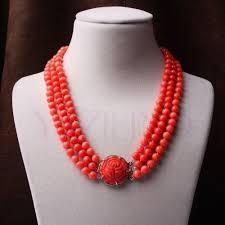 coral necklace images Vintage coral necklace ebay JPG