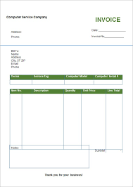 blank invoice template uk word free invoice template