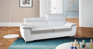 canape mobilier de canapé cuir 3 places kili mobilier de