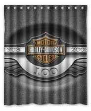 Harley Davidson Curtains And Rugs Harley Davidson Shower Curtains Shower Curtain Rod