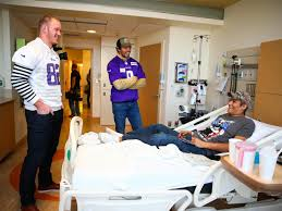 the vikings bring thanksgiving early by visiting of