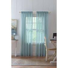 Tan And Blue Curtains Sheer Curtains U0026 Drapes Window Treatments The Home Depot