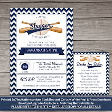 baby shower sports invitations baseball baby shower invitations chevron baseball baby shower
