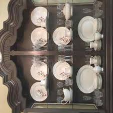 lisbon solid rubberwood china cabinet lighted cabinet reviews birch lanerhbirchlanecom lisbon how to