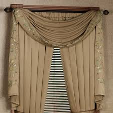 using the scarf curtains light decorating ideas using the