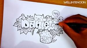 doodle name how to make your name in doodle daniela wellintencion