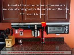 best under cabinet coffee maker best under counter coffee maker