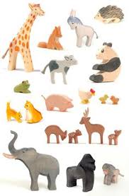baby animal clipart wooden pencil and in color baby animal