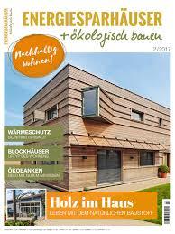 Moderne Einbauk Hen Energiesparhäuser ökologisch Bauen 2 2017 By Family Home Verlag